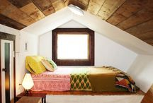 in the attic / See beautifully styled attic's! Don't waste precious room, live in it.