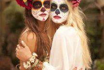 Halloween schminken