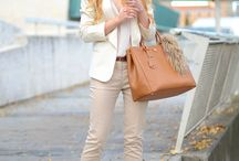 Fashion / Beige pants
