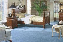 Blue carpet ideas