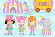 circo rosa / by Ludmylla Tavares