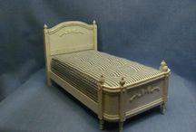 Camera letto miniatura