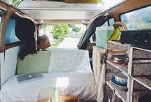 ROAD TRIPPING / Campervans, camping, glamping