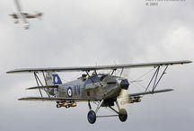 Hawker Fury & biplanes