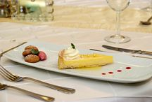 Food / Food served at Penyard House during weddings, events or corporate dinners.