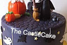 Hallowen cake topper / Topper
