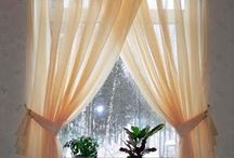 curtains with drapes