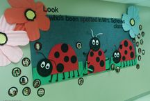 Bulletin Boards: Ladybugs / by Polly Wickstrom