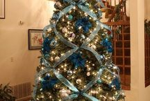 Christmas Trees / Ideas with ribbons
