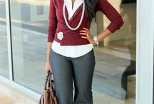 Casual Friday Looks for the Working Girl  / Casual Friday looks to wear to work