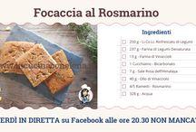 Cuciniamo Insieme in DIRETTA tutti i VENERDI alle 21.00 dalla mia pagina FB