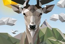 Low Poly cool / Love all low poly inspiration!