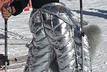 Kombinezony narciarskie SIlver / Silver ski suits