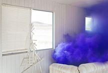 lazy fashion stylist - coloured smoke bombs
