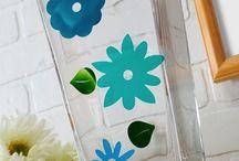 Mod Podge Glass