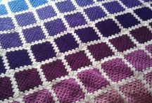 Crochet - Blankets, Throws  & Pillows
