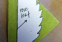 leaf crepe paper
