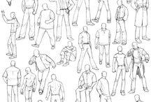 Drawing Clothes: Men's