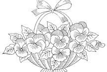 antistresové omalovánky - květiny, příroda