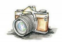 Arts sur les appareils photos . / Diverse façon de voir les appareils photos