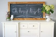 fun frames and cool chalkboards