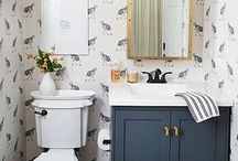 Home - Guest Bath / by Savannah Patrone - theperfectedmess.com