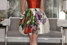Fashion & Flowers / flowers are colouring our lives, let's wear them!