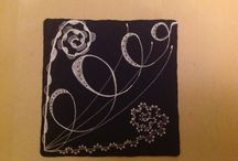 Dashtangles Black Tile Originals / Tiles I have created