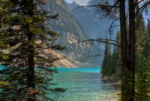 The Rockies, Alberta / Pins of nature reserves and parks in Alberta, Canada
