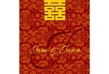 Oriental Double Happiness Wedding Card / if you are interested to purchase and customized the oriental chinese traditional double happiness wedding card, please visit : http://www.zazzle.com/kanjiz/gifts?cg=196656534499596521