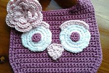 crochet-bibs / by Vicki Loch Staggs