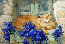 Kitties / by Pauline Ashley