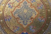 5 Arabische mandala's en vormen