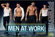 Magic Mike / Just have to say that I think the men of Magic Mike deserved their own board. / by Tracy Guillozet