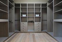 Gardrób szoba belső elrendezés