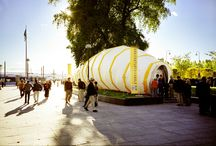 Larven / Inflatable structure