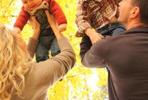 Autumn family foto