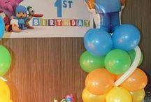 Primer cumpleaños Thiago