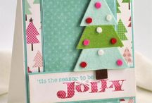 Christmas Card Inspiration / DIY Christmas Card Decoration Inspiration  / by Nakia