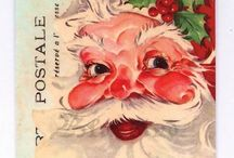 Vintage christmascards & pictures
