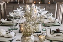 Chic tables and decorations