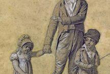 children´s dress 1795 - 1820