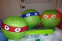 Πάρτι χελωνονιτζάκια