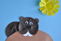 Groundhog Day / Creative crafts, projects, and learning ideas for Groundhog Day (February 2nd).