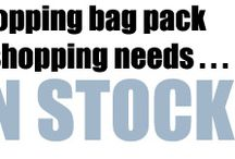 We love reusable shopping bags / Reduce your carbon footprint with our reusable shopping bags, totes and shoulder bags