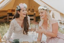 Boho Wedding Inspiration / Styled shoot at Blossom Barn in Holmforth. Photography by Lianne Gray