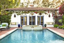 Mi casa de Spanish Revival / My home style: Spanish Revival Spanish Colonial Tropical eclectic