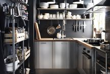 Kitchens / Kitchen, gadgets, gizmos, furniture, accents, must haves, really wants, and much more. / by Dani Graff
