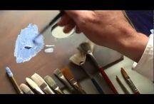 festészet és technikák