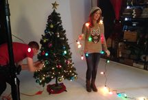 Holiday Photoshoot Inspiration / New Year's Eve, Christmas, and general holiday photoshoot inspiration
